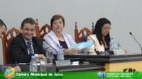 Fotos da Sessão Ordinária realizada no dia 11/04/2016 as 20 horas no Plenário Henrique Simionatto.