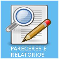 PARECERES E RELATORIOS