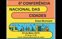 6º Conferência das Cidades - Etapa Municipal