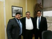AUDICOM celebrará termo de parceria com a Procuradoria Geral de Justiça do Estado.