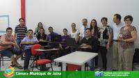 Câmara Municipal de Juína participa de Oficina na AJES