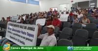 Câmara recebe reunião de assentados com Casa Civil