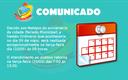 COMUNICADO: Adiamento Sessão Ordinária