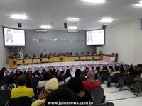 Mulheres são homenageadas em sessão solene na câmara de vereadores de Juína