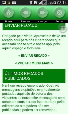 "Guia ""recados"""