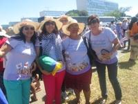 """Representantes de Juína participam da """"Marcha das Margaridas"""""""